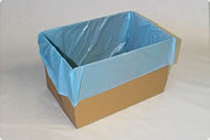 BRC Food grade polythene box liner