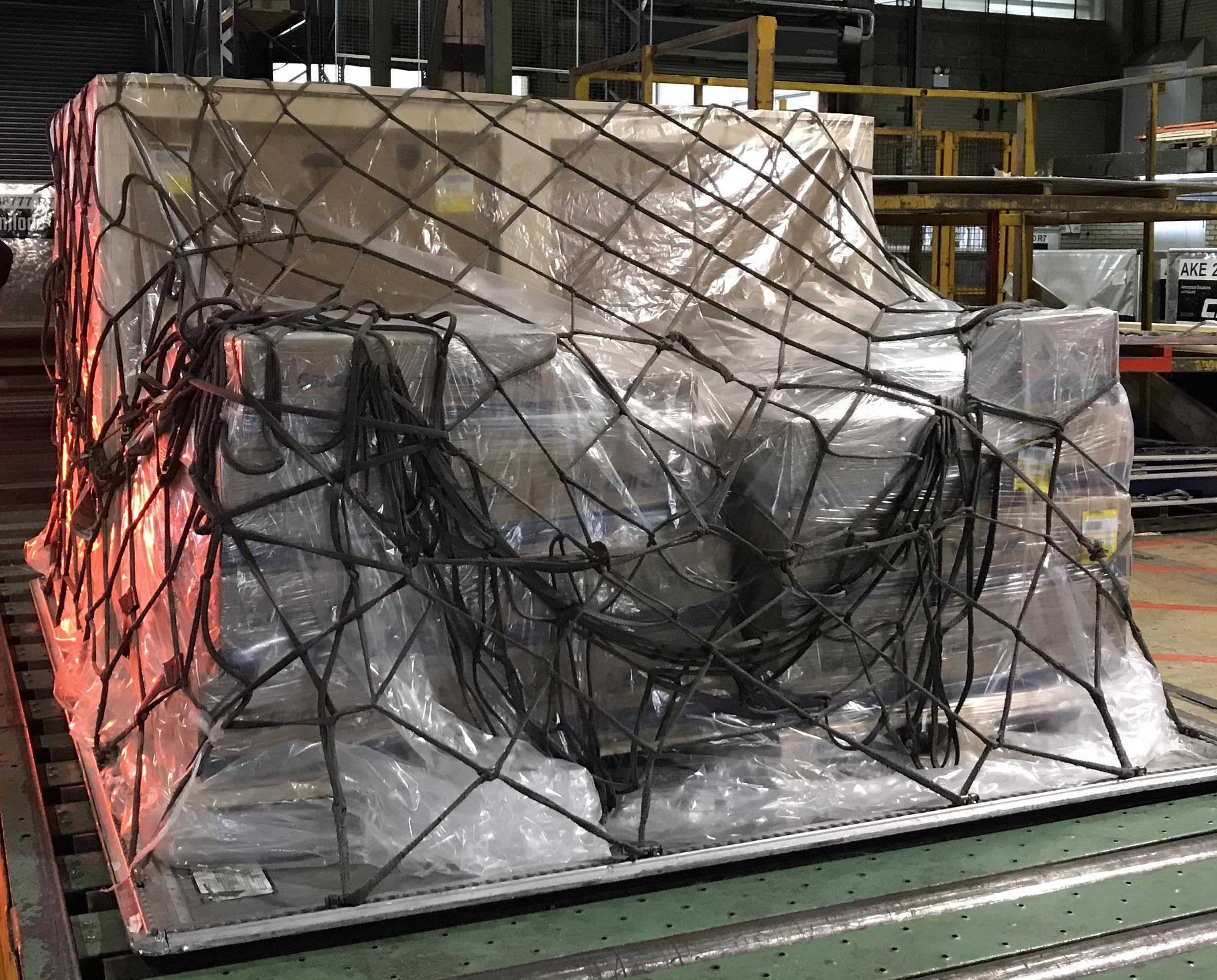 Polythene cargo cover
